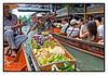 4th year Pic 187 - July - 28 2012  Floating fruits! , Damnoen Saduak , Thailand