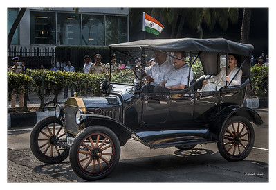 Republic day - vintage cars
